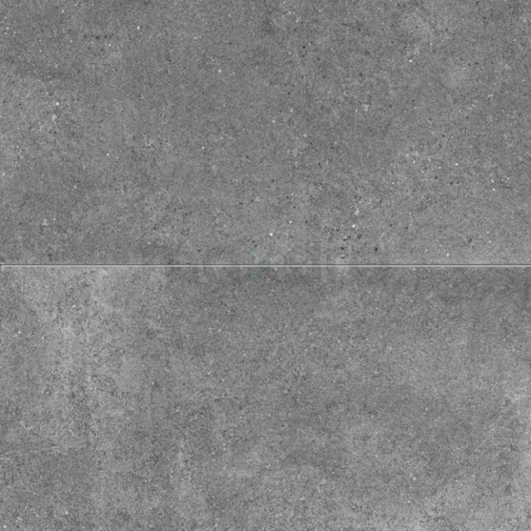 Tegel Viene 303-030304 Vloertegel/Wandtegel Viene Ombergrijs 45x90cm Natuursteenlook Antraciet Gerectificeerd