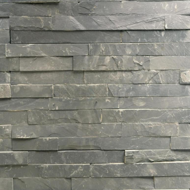 Steenstrips Brick 15x60cm Natuursteen Multicolor Mat