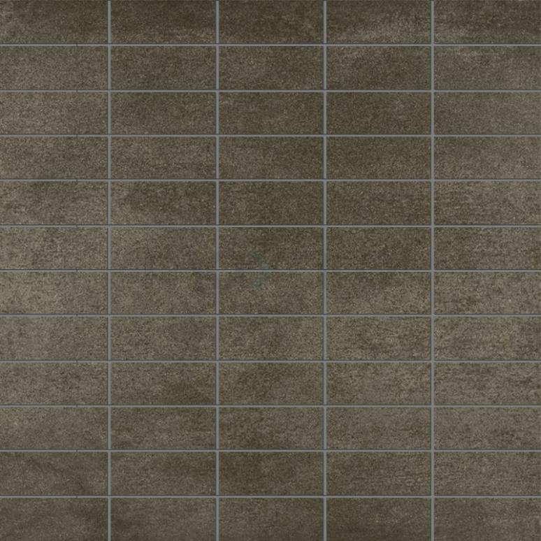 Mozaïektegel Dust Midnight 30x30cm Betonlook Antraciet Gerectificeerd