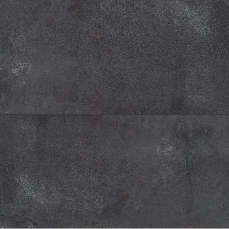 Vloertegel/Wandtegel Loft Antraciet 30x60cm Betonlook Antraciet Gerectificeerd
