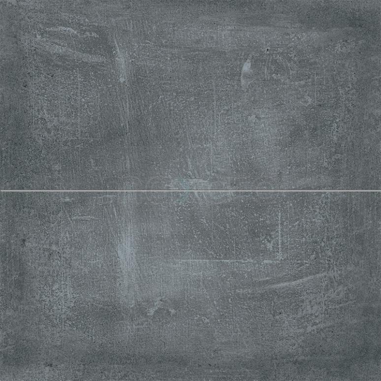Vloertegel/Wandtegel Urban Graphite 30x60cm Betonlook Antraciet Gerectificeerd