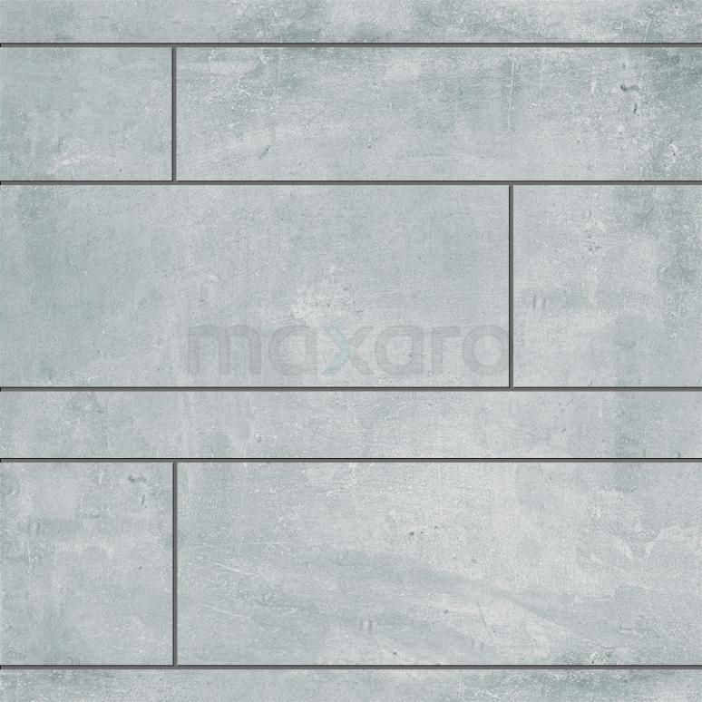 Strokenmix Urban Grey Betonlook Grijs Gerectificeerd