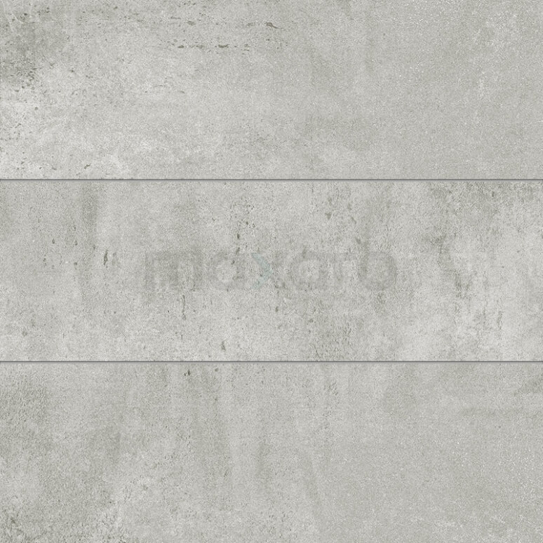 Tegel Atelier 304-070202 Vloertegel/Wandtegel Atelier Platinum 30x90cm Betonlook Grijs Gerectificeerd