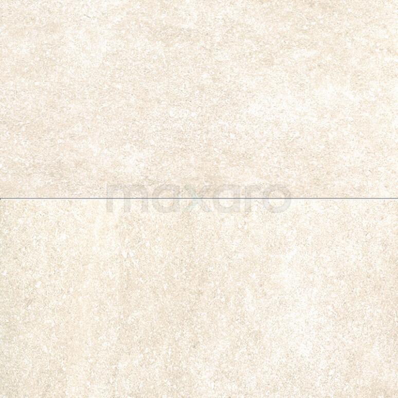 Vloertegel/Wandtegel Gem Beige 30x60cm Natuursteenlook Gerectificeerd