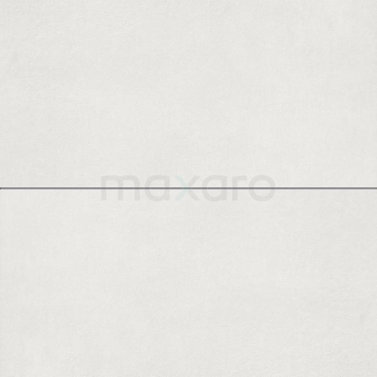 Vloertegel/Wandtegel Verso White 40x80cm Uni Wit Gerectificeerd