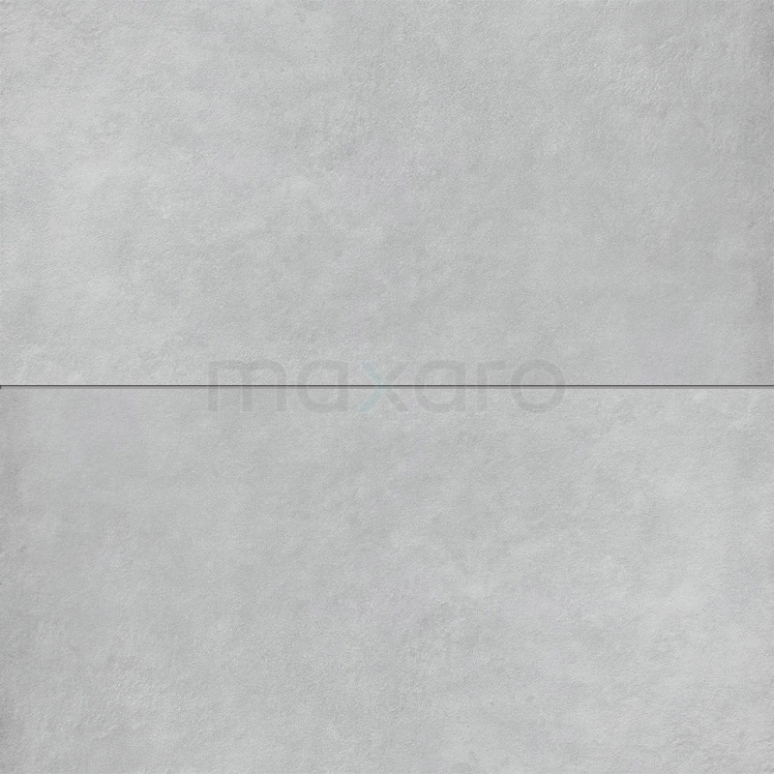 Vloertegel/Wandtegel Verso Light Grey 30x60cm Uni Grijs Gerectificeerd