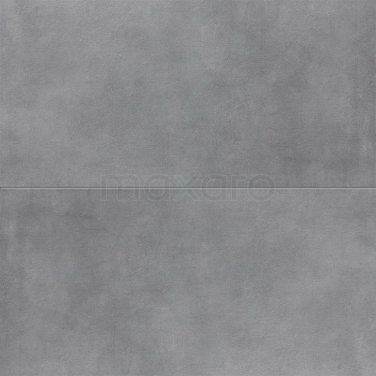 Vloertegel/Wandtegel Verso Dark Grey 40x80cm Uni Grijs Gerectificeerd