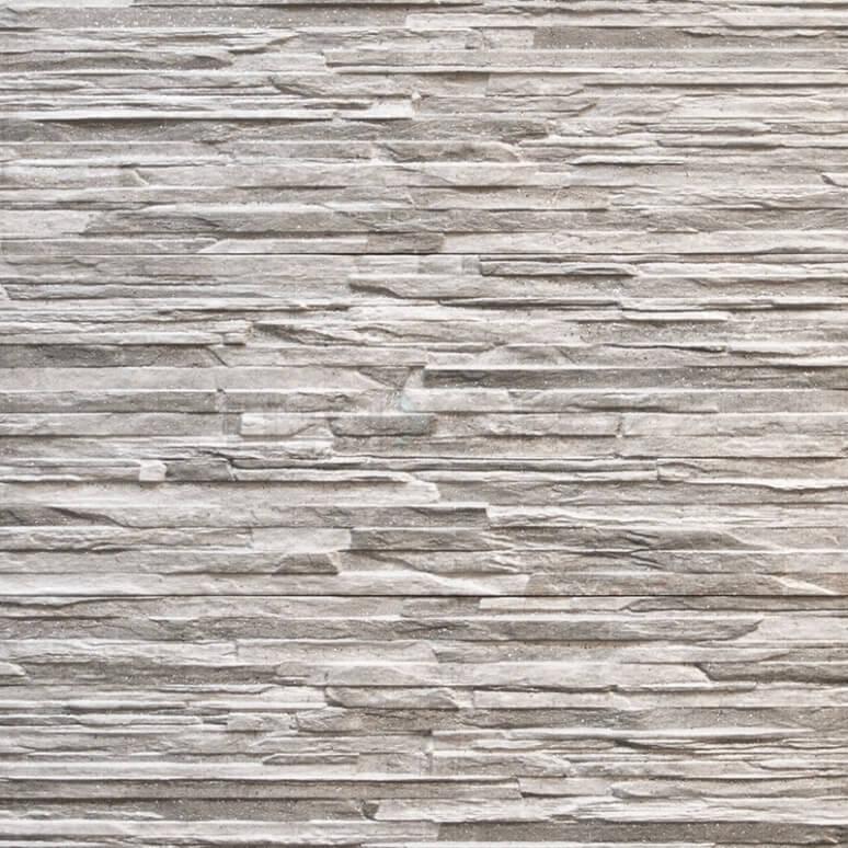 Wanddecor Cliff Grey 16,5x41cm Natuursteenlook Grijs