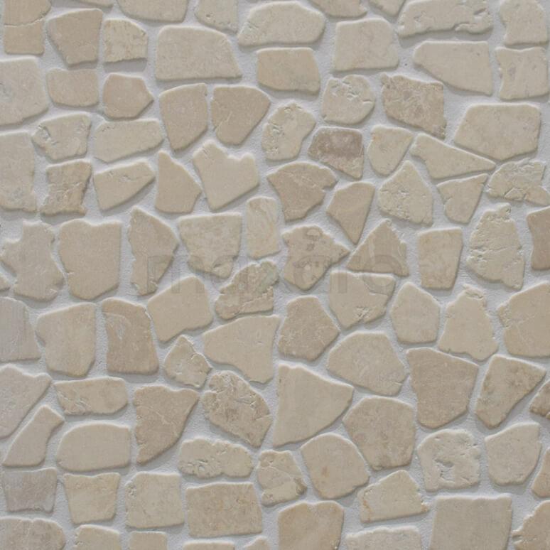 Tegel Pedra 406-020101 Mozaïek Pedra Cream 30x30cm Beige Mat
