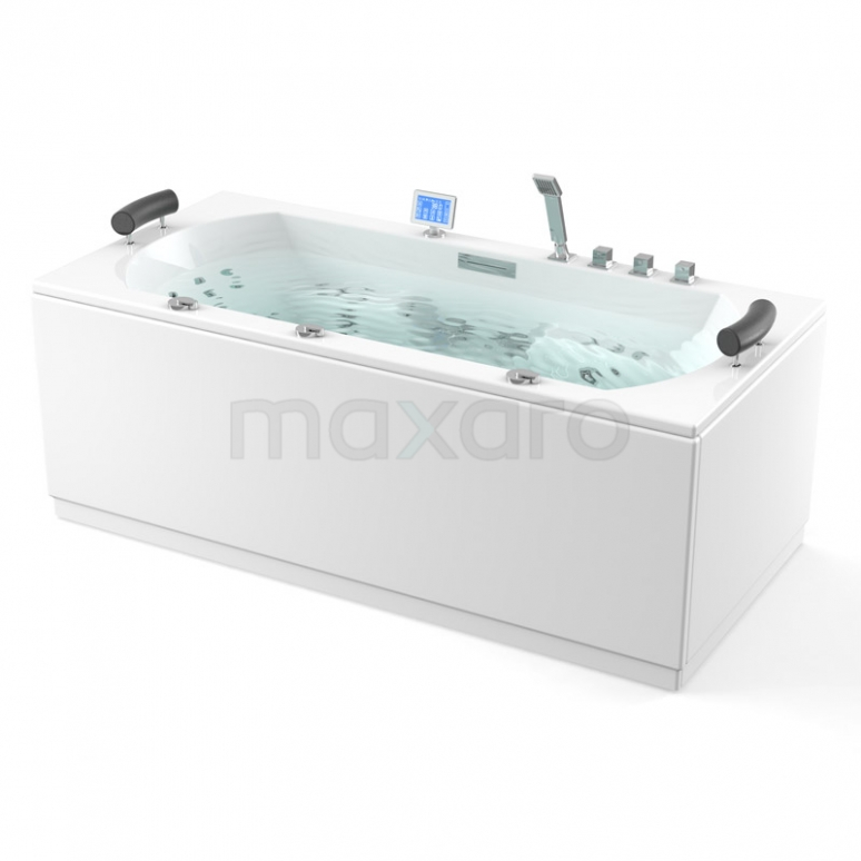 Whirlpool Bad Atlantic Platinum 2 Persoons 190x90cm Water- en luchtmassage met Turbo
