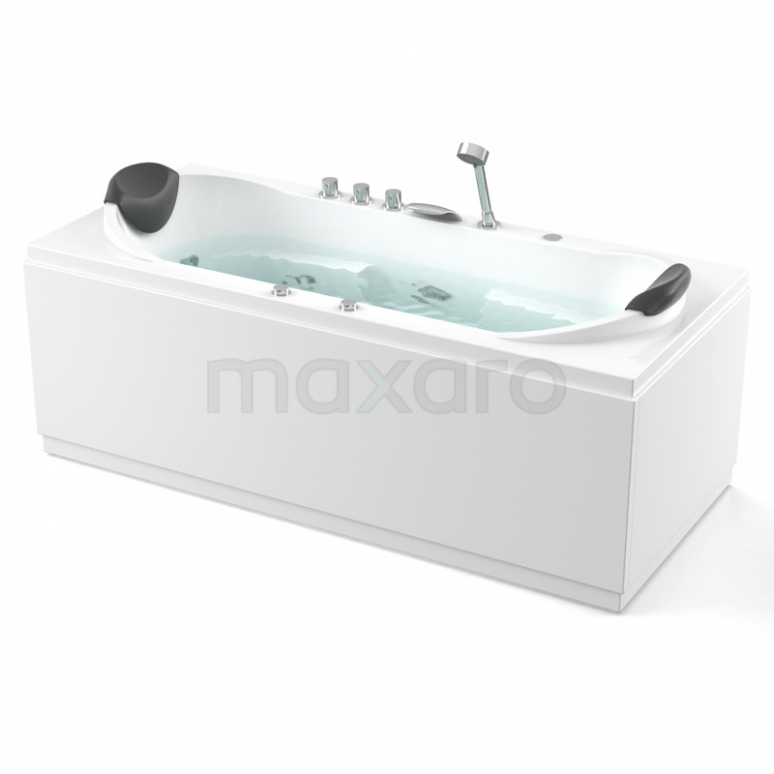 Whirlpool Bad Nordic Brass 2 Persoons 180x90cm Watermassage