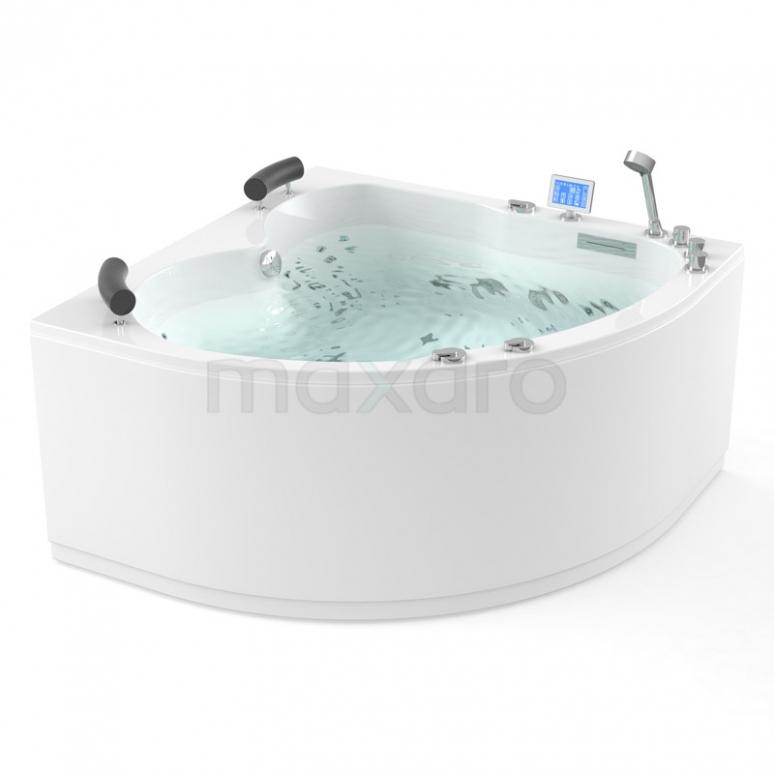 Whirlpool Bad Atlantic Platinum 2 Persoons Links 140x140cm Water- en luchtmassage met Turbo