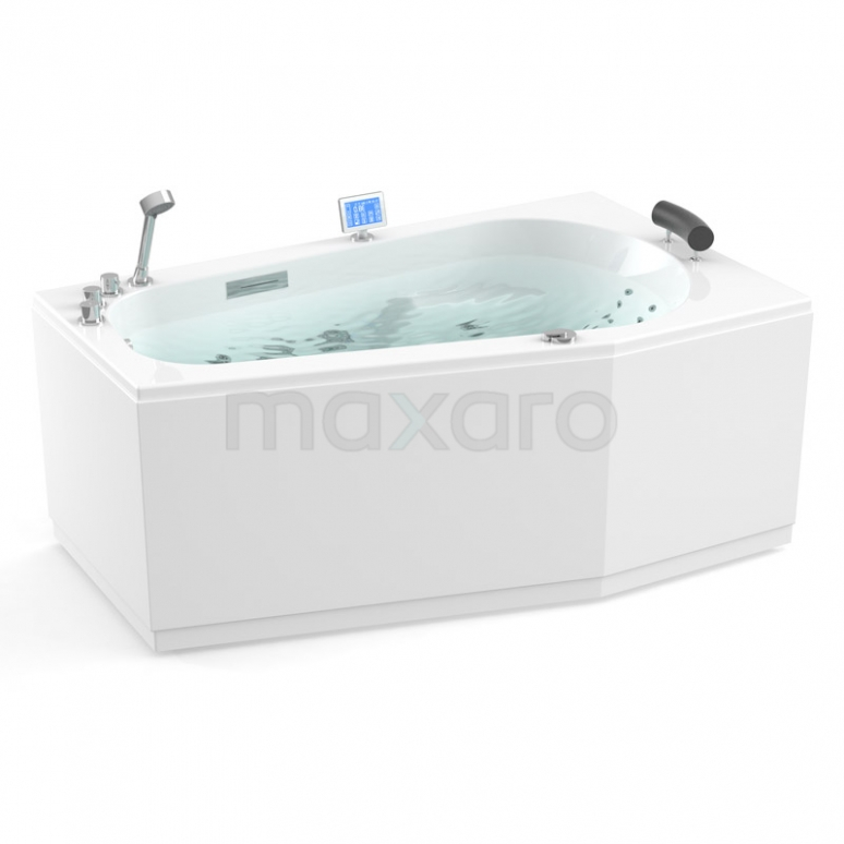 Whirlpool Bad Atlantic Gold 1 Persoons Rechts 170x100cm Water- en luchtmassage