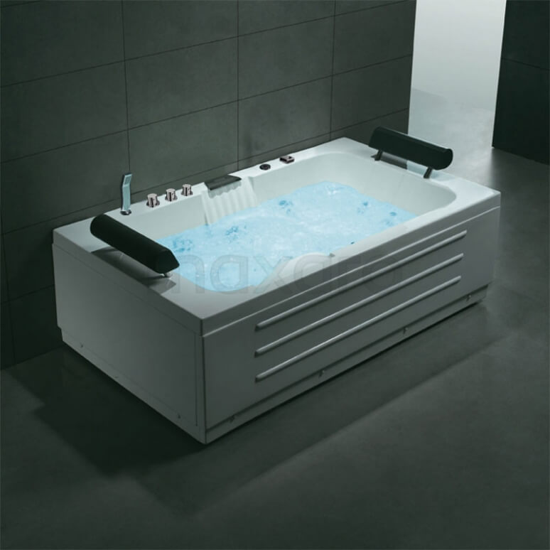 Whirlpool Bad Pacific Brass 2 Persoons 170x100cm Watermassage