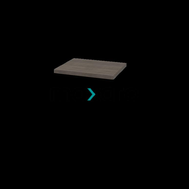 Wastafelblad Modulo Plato 60cm Grijs Eiken